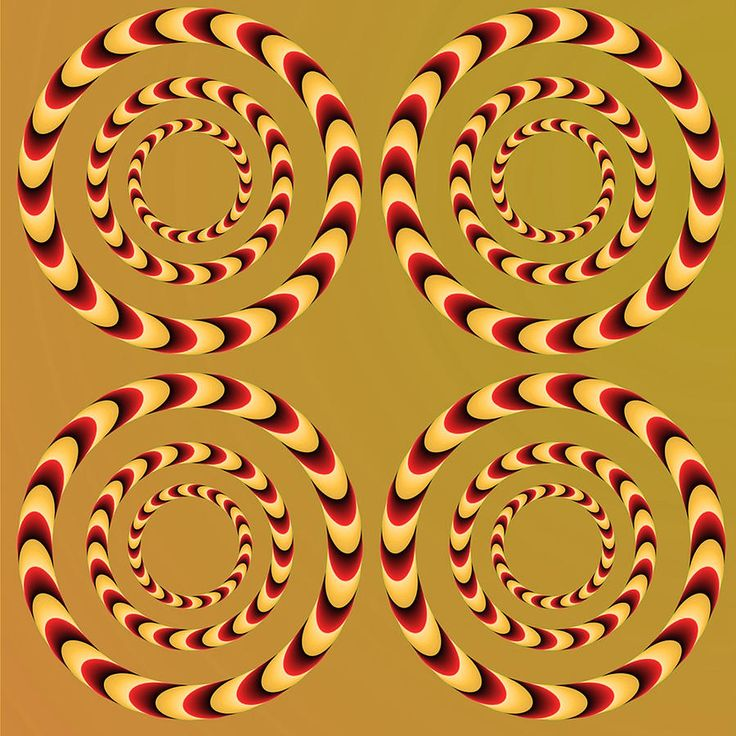 GEOMETRIC ABSTRACTION... AND A GREAT OPTICAL ILLUSION...