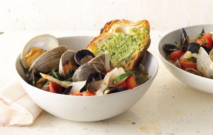 21 Recipes for Dutch Ovens - Bon Appétit--summer tomato boullabaisse