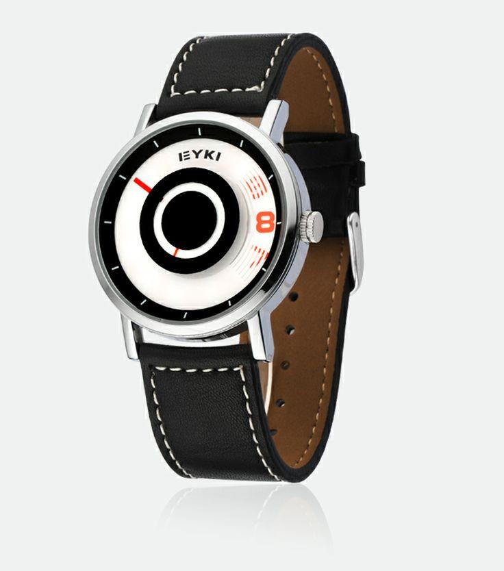 Armbandsur Eyki - Stratus (svart) #eyki #kimio #sportklocka #sportklockor #armbandsur #klocka #klockor #herrklocka #herrklockor #runns #watch #watches #nato #natoband #overfly