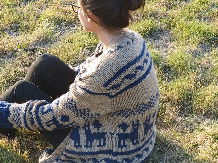 Llama knit - ludivineem  Phildar Hiver Femme n°82