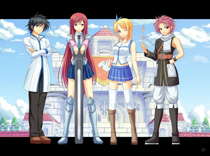 63 best images about Fairy Tail on Pinterest   Fairy tail ...