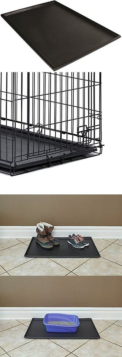 Cages and Crates 121851: Midwest Homes For Pets 10Pan Travel Crates 48 Black Dog Tray Replacement New BUY IT NOW ONLY: $42.2