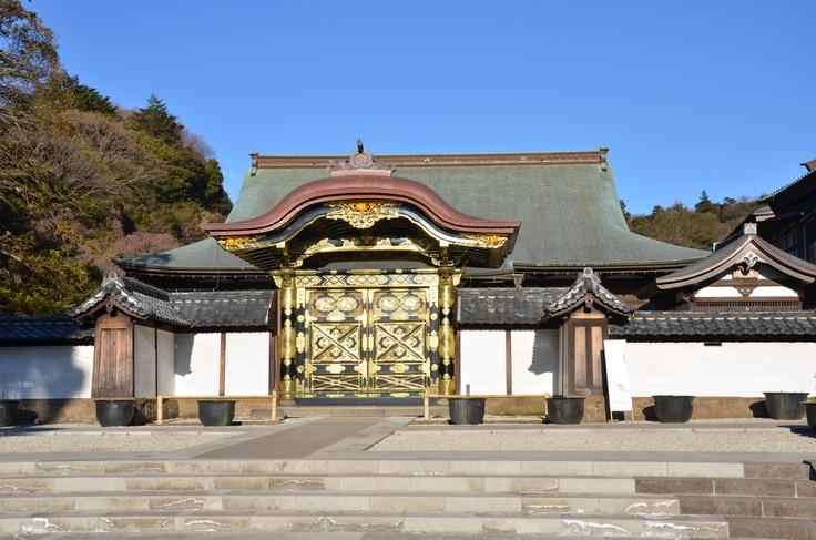 Gate in Kamakura (Originally for Shogun's wife)