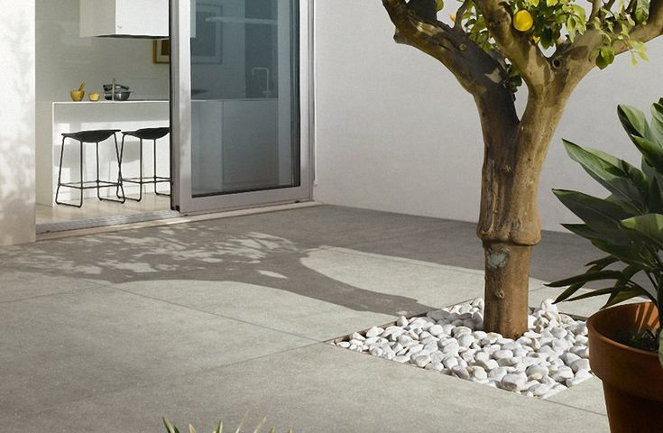 Outdoor Floor Tiles - Nera Cool Grey