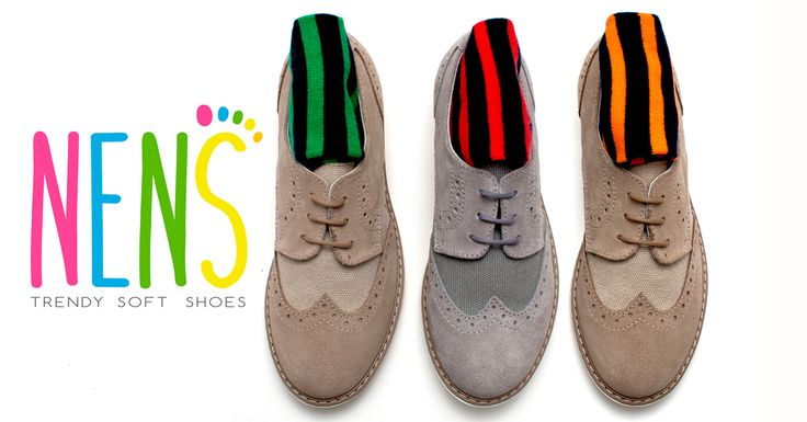 Children Shoes NENS SS17 NENS SS17 BROGUES with a splash of colour