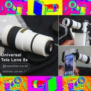 Kulitas Foto Jarak Jauh Dikamera Ponselmu Tetap Tinggi Dengan Menggunakan Universal Tele Lens 8x Rp. 189.000 - www.evoucher.co.id #Promo #Diskon #Jual  klik > https://evoucher.co.id/deals/detail/kulitas-foto-jarak-jauh-dikamera-ponselmu-tetap-tinggi-dengan-menggunakan-universal-tele-lens-8x  Universal Tele Lens 8x, buat anda yang suka fotografi menggunakan Kamera HP, lensa ini dapat membantu anda melakukan zoom jarak jauh tanpa mengurangi kualitas gambar. Bonus Tripod ca