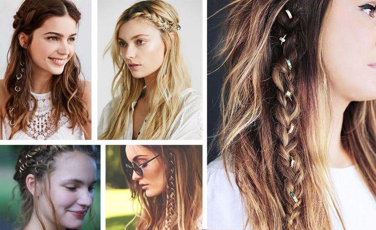 Saçlarda Çılgın Trend: Saç Yüzüğü