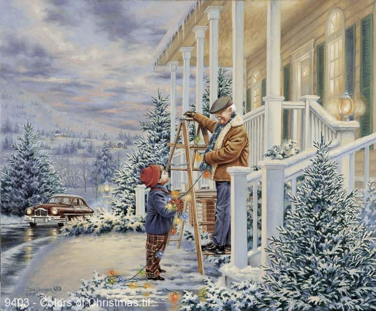 """""""Colors of Christmas"""" - by Dona Gelsinger"""