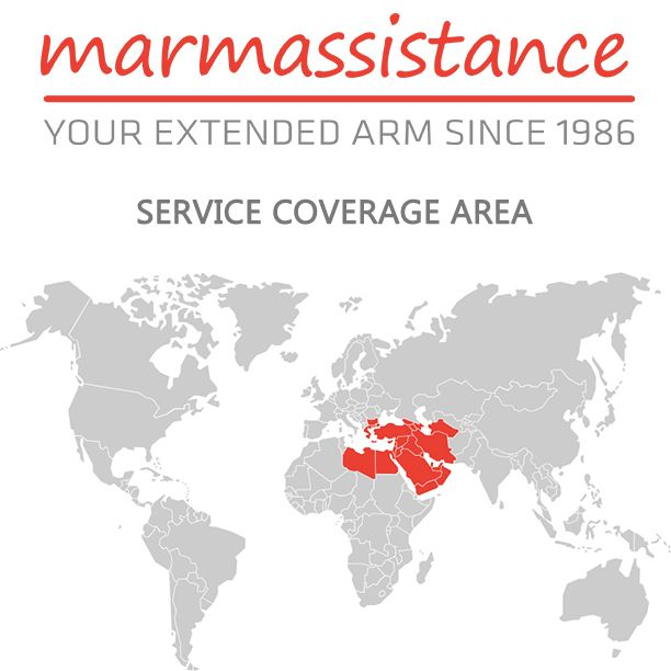 With our very own, extensive and select service provider network, we offer our first-in-class assistance solutions in the Region.   http://marmassistance.com/company/service-coverage-area/