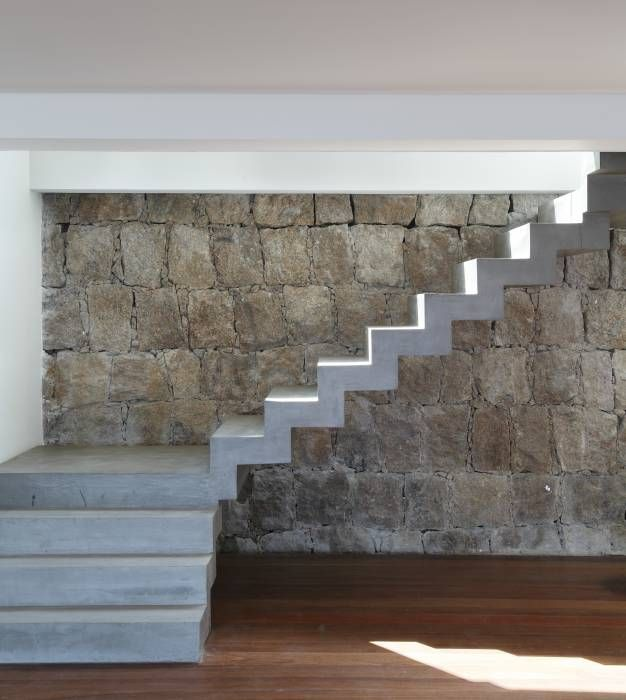 17 mejores ideas sobre escaleras de concreto en pinterest for Escaleras de cemento para interiores