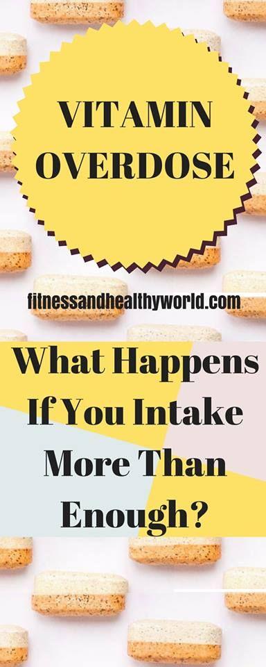 #vitamin#overdose#health