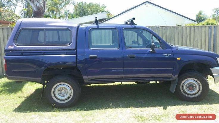 toyota dual cab 4x4 #toyota #forsale #australia
