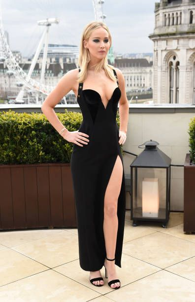 Jennifer Lawrence attends the 'Red Sparrow' photocall at Corinthia London on February 20 2018 in London England