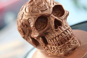 Chocolate Skull | From trick or treating and pumpkin carving, to watching scary movies and having a party, there's so much you can enjoy on the spookiest night of the year. Time to get Halloween-ready with tasty treats.