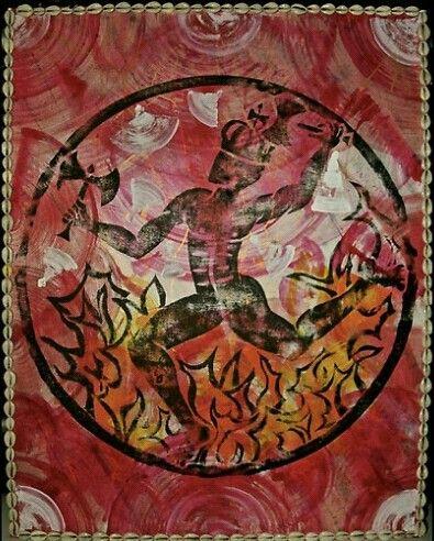 Xango, Orixa of fire and dance by Ginga & Helen Dos Santos