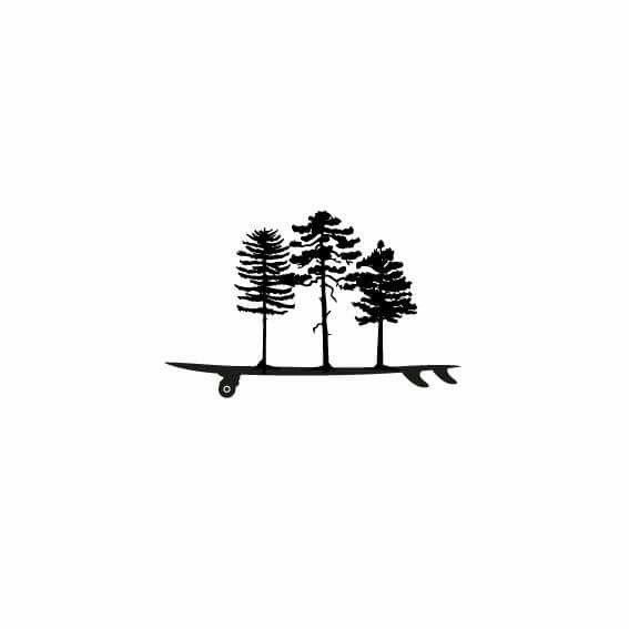 """Logo """"Vida Sobre Tabla"""" - Emprendimiento de mi buen amigo Patrick Rieder, quien nos invita a conocer sobre estos deportes y ligarlos a la naturaleza chilena."""