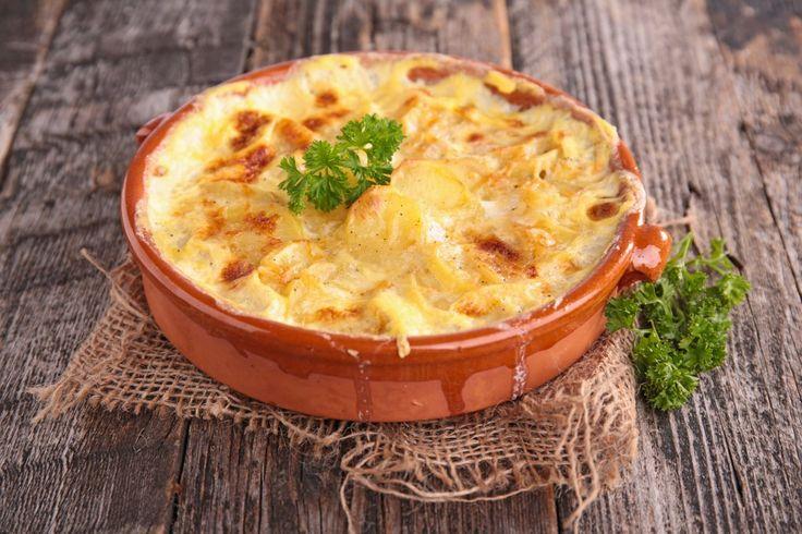 Köstlich und im Handumdrehen zubereitet: Kartoffelgratin mit Hack.