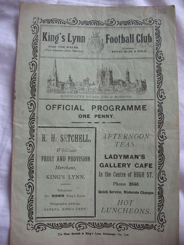 Home to Chelsea A   26th March 1937
