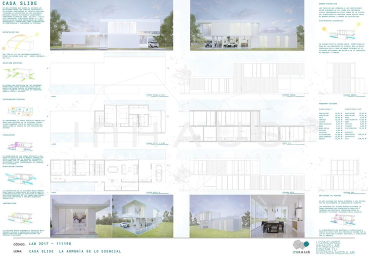 "II Concurso ""inHAUS LAB Diseña tu casa modular""(画像あり)"