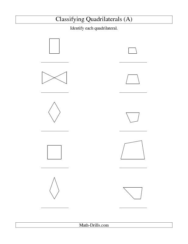 10 best quadrilaterals images on pinterest