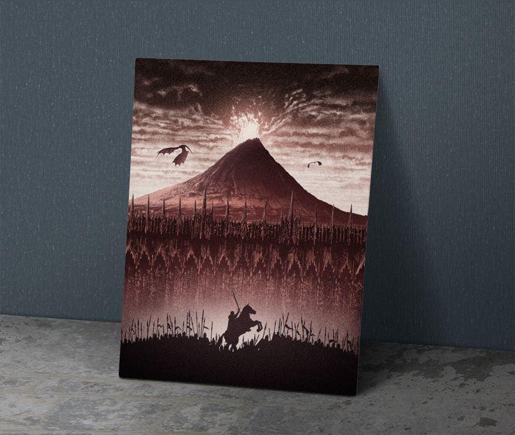 Kralın Dönüşü - Metal Poster