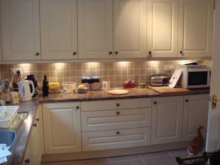 Solid Oak Painted Ivory Kitchen