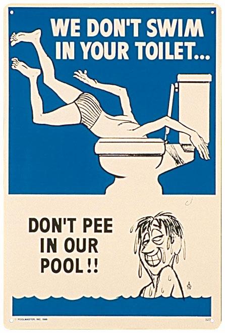 Pee piddle piss potty swim tinkle