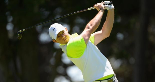 Rory McIlroy will face Billy Horschel for a place in the last-16 at the WGC Cadillac after beating Brandt Snedeker two up  in his second round in San Francisco. Photograph: Getty