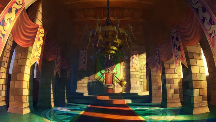 King Edmund's Court - Characters & Art - Odin Sphere
