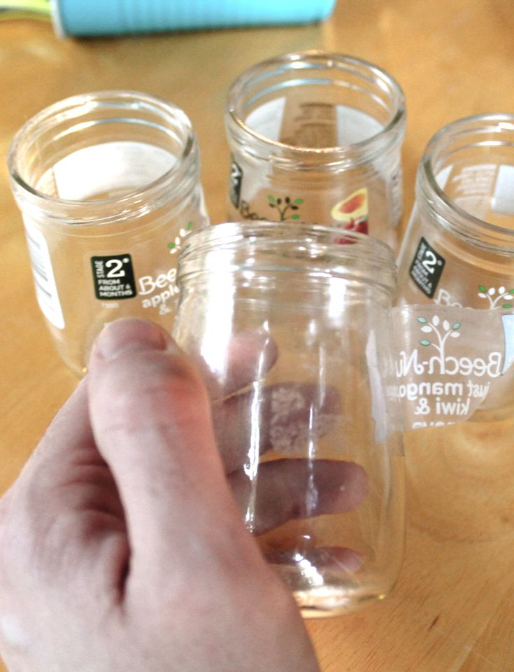 How To Remove Labels From Beechnut Baby Food Jars With No Chemicals