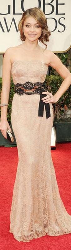 Belt for black lace dress