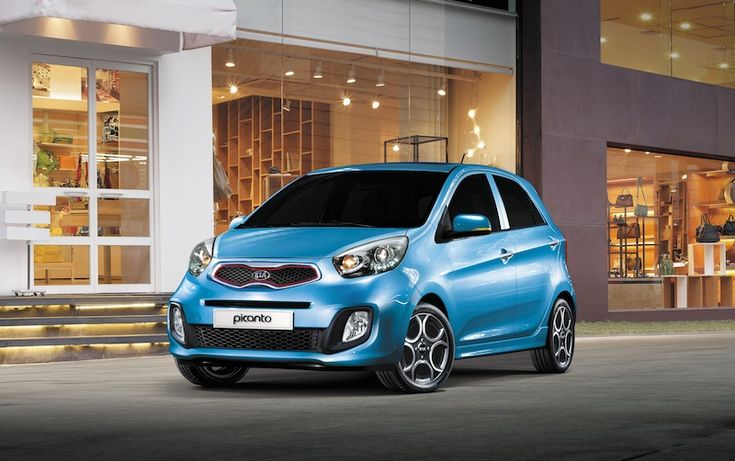 The new Kia Picanto gets a fresh new face.