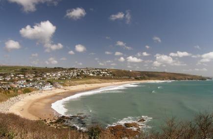 Praa Sands Beach, Penzance, Cornwall