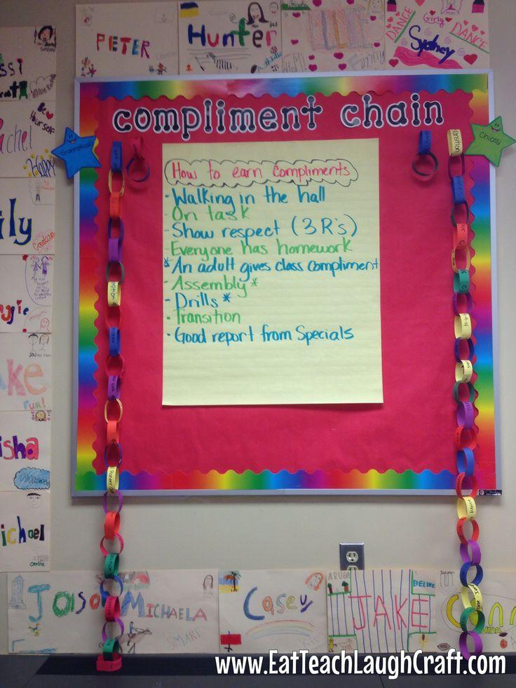 Classroom Management Compliment Chain