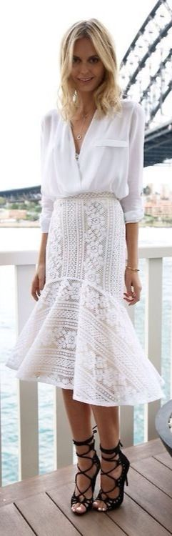 White Summer Chic Style