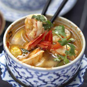 Soupe de crevettes à la citronnelle - Cuisine actuelle mobile
