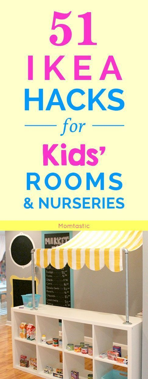 51 Clever IKEA Hacks for Kids' Rooms & Nurseries