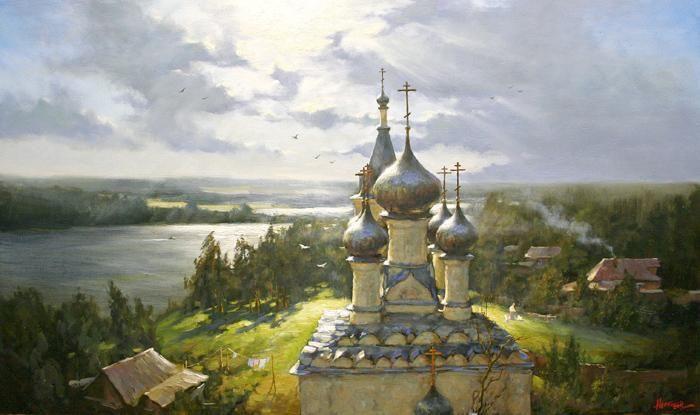 by Russian artist Stepan Nesterchuk (1978)