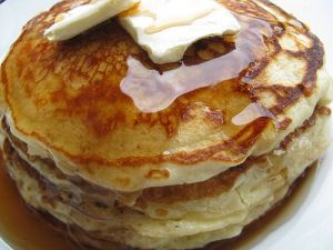 Seriously, I never ate a real pancake until I was an adult. I grew up thinking pancakes came out of a box labeled Aunt Jemima. Or Bisquick. And I never liked pancakes very much. I don't know …