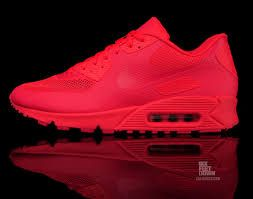 nike air max 90 hyperfuse rouge fluo femme