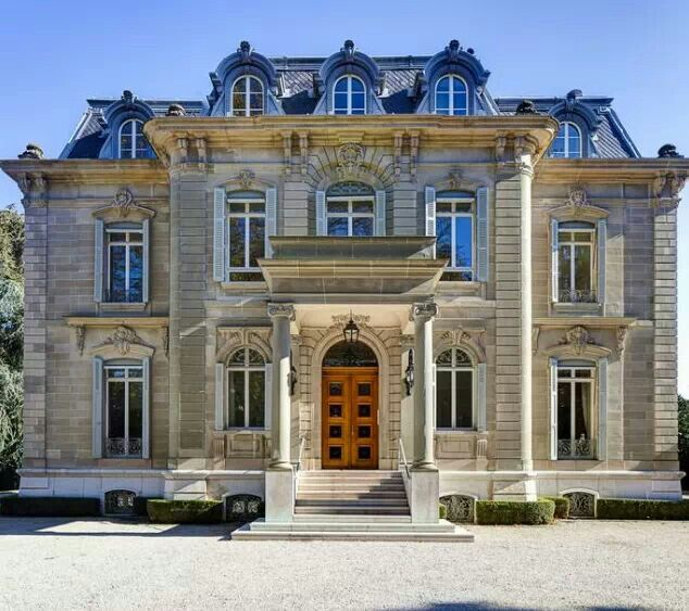French exterior french second empire ideas pinterest for French luxury homes