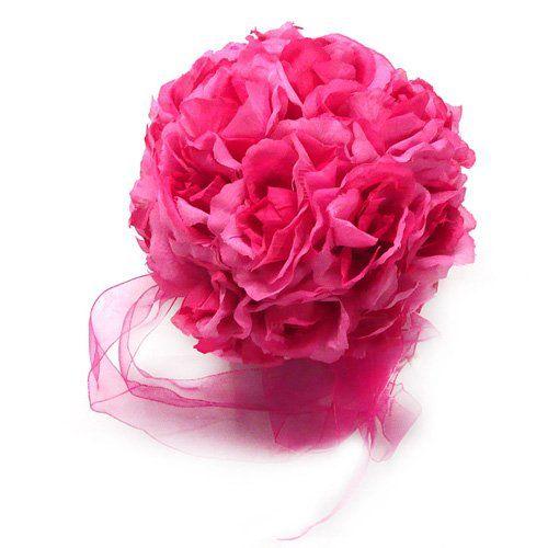 Flower Balls Dark Pink Wedding Decorations E-MART http://www.amazon.com/dp/B006AZ6YRW/ref=cm_sw_r_pi_dp_EBV3tb10VNB8VNYE