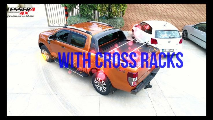 #Ford #Ranger #t6 #wildtrak #2017 #aluminum #roller #lid #shutter #sotroll #series by #tessera4x4 #accessories #combined #now #with #extra #accessories #stainless #steel #side #handrails and #cross #racks #effectiveness #with #nolimits #checknow Only at https://www.accessories-4x4.com/Product/395/Instance/3100/en/