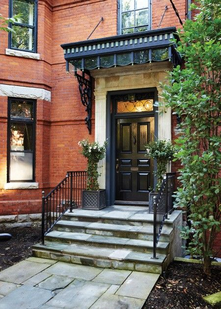 Red Brick House Exterior Makeover Curb Appeal