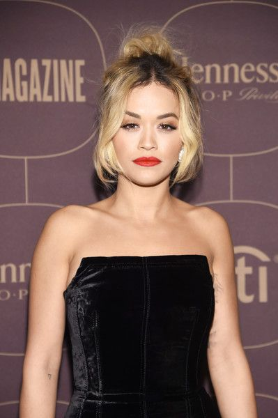 Rita Ora Photos - Rita Ora attends the Warner Music Group Pre-Grammy Party in association with V Magazine on January 25, 2018 in New York City. - Warner Music Group Hosts Pre-Grammy Celebration In Association With V Magazine - Arrivals
