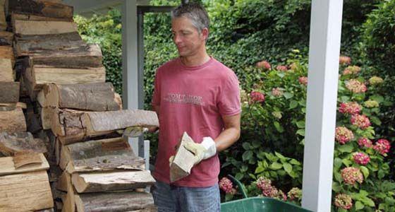 Ber ideen zu brennholz lagerung auf pinterest brennholz brennholzlagerung und - Brennholz lagern ideen wohnzimmer garten ...