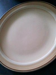 Crown Lynn Orbit D6100 Dinner Plates (5)