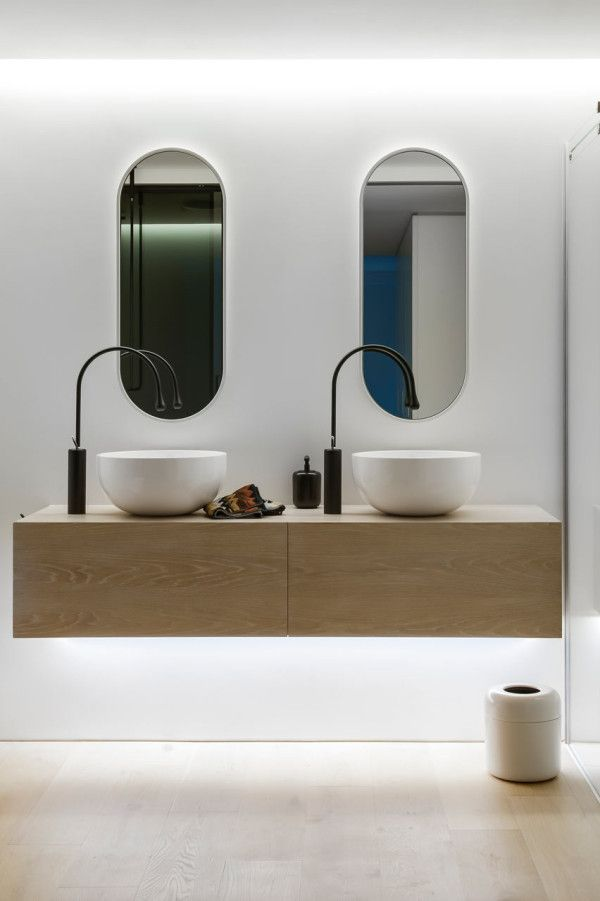 Love this modern bathroom design