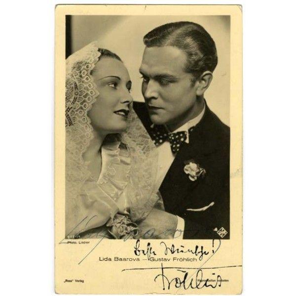 Lida Baarova and Gustav Fröhlich