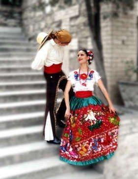 Trajes Tipicos Regionales De Mexico | FIESTA DE LAS NACIONES (TRAJES Y OBJETOS TIPICOS DE CADA REGION)